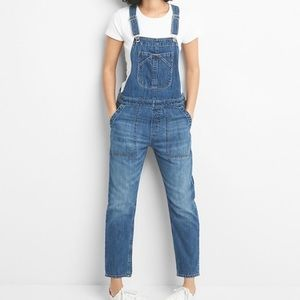 GAP Relaxed Denim Overalls - NWT!